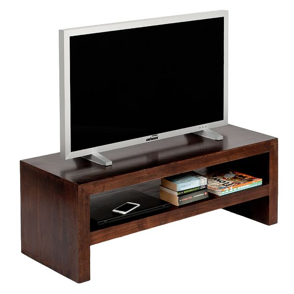 TV-Board KASI Dark-Brown-R ca. L140cm Akazie – Bild 3