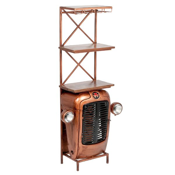 Traktor-Bar-Regal INDUSTRY Bronze ca. H180cm