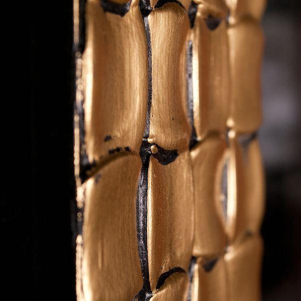 Spiegel DAMIER 200x110cm Schwarz Gold – Bild 4