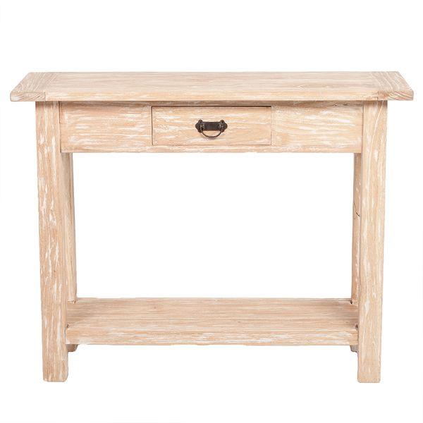 Konsolentisch TENSO Mindi-Wood Natural – Bild 3