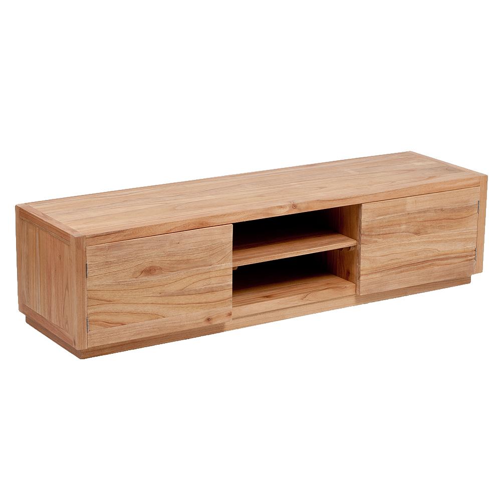 TV-Board TENSO-B Natural Mindi-Wood ca. L180cm