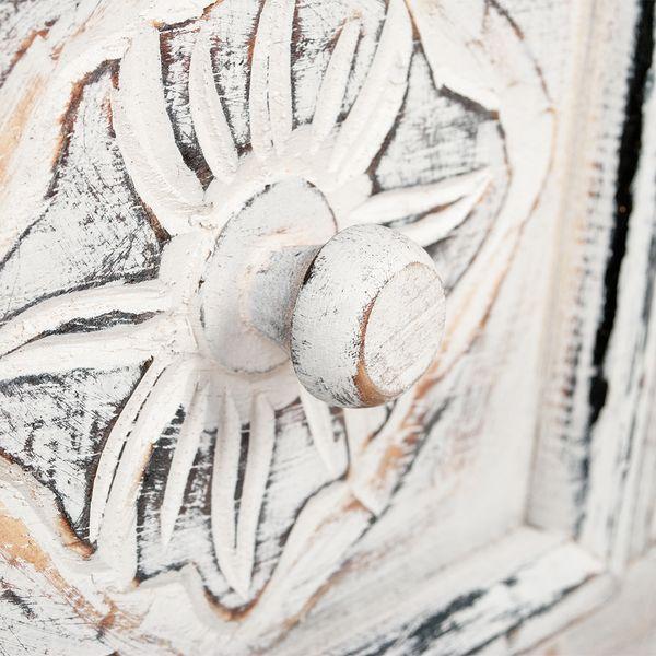 Konsolentisch MAROC White Wash Mahagoni – Bild 5