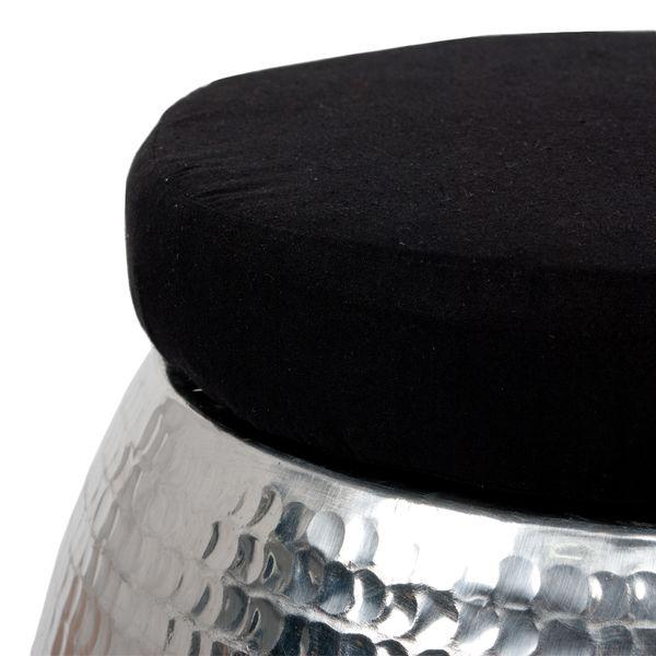 Hocker GABELLO Aluminium mit Kissen – Bild 4