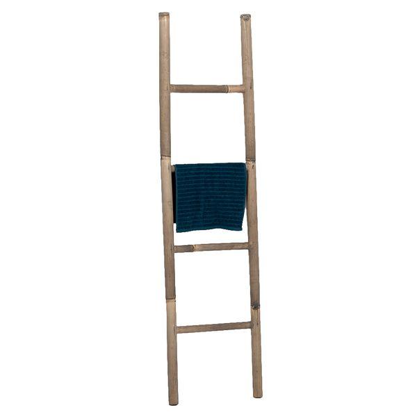 Bambus Deko-Leiter BAMBOO Grey H150cm – Bild 2