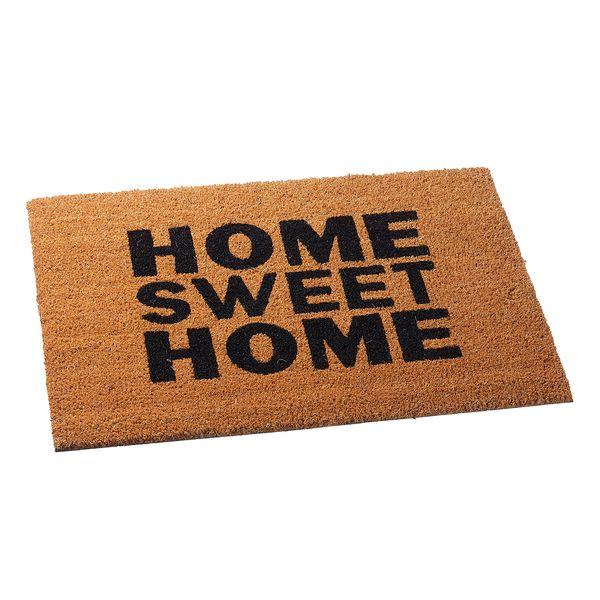 Fußmatte HOME SWEET HOME 60x40cm Kokos