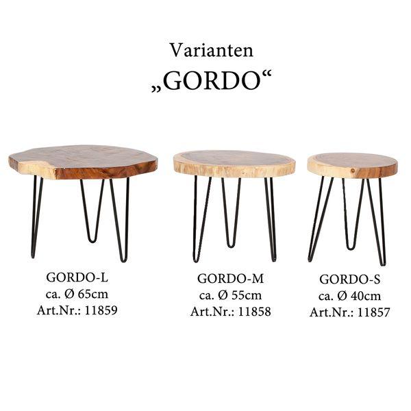 Beistelltisch GORDO-M Natural Suar – Bild 6