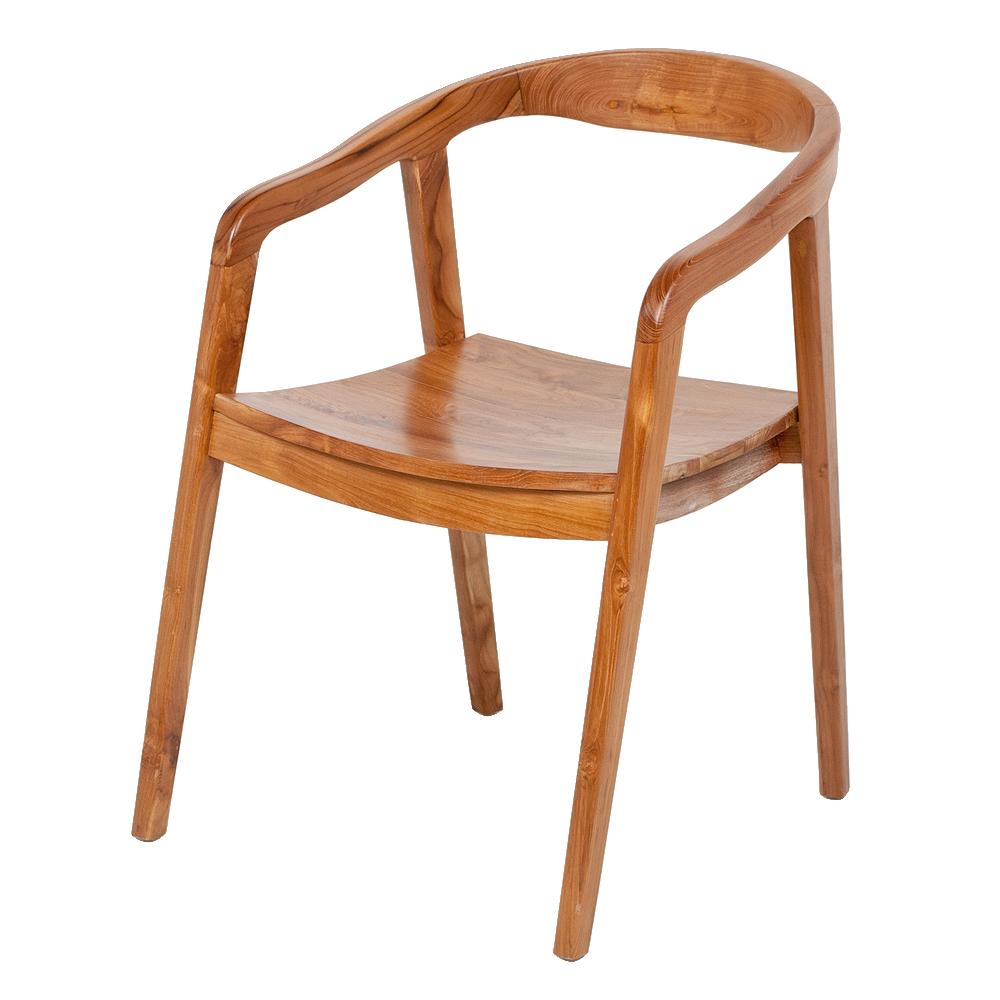 Teak Design Lounge-Stuhl FUNNO Natural