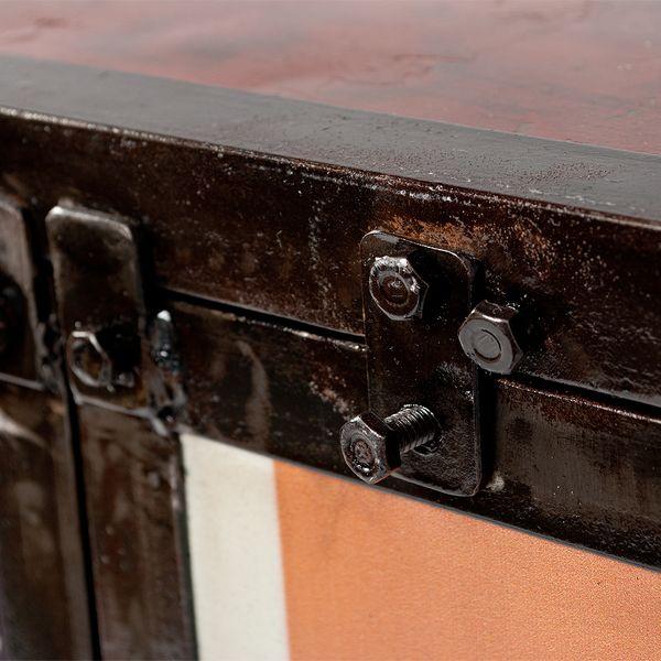 Highboard LOGAM-DIESEL ca. H145cm recyceltes Metall – Bild 5