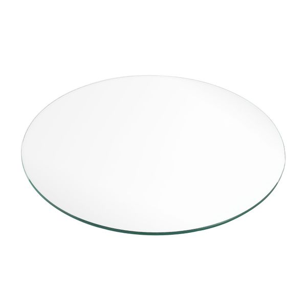 Glasplatte TERRY 50cm Rund ESG Glas