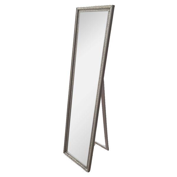 Standspiegel JENNIFER Silber 160x40cm – Bild 2