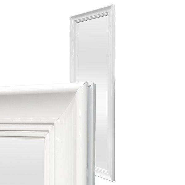 Spiegel LILLY Weiß Hochglanz 140x50cm – Bild 1