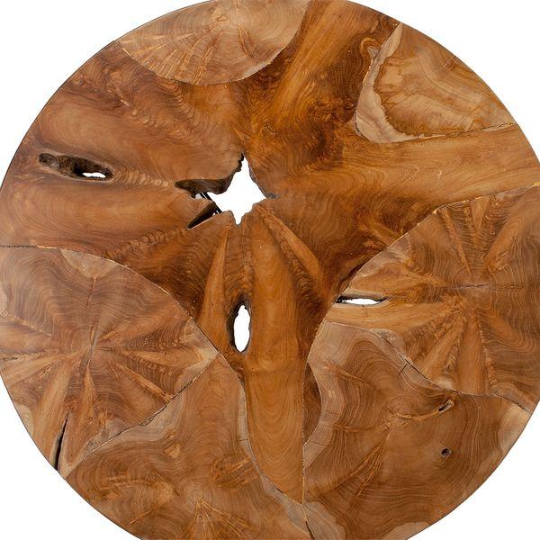Teakwurzel Couchtisch LISTA-80cm Natural – Bild 3