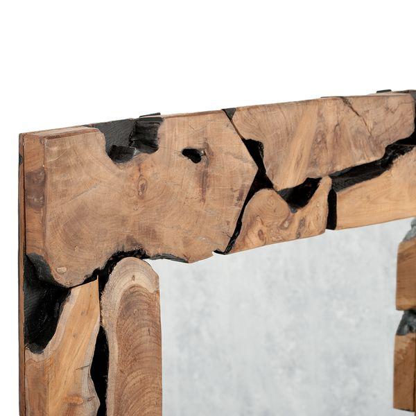 Teak Spiegel PEDESAAN ca. 120x85cm Natural – Bild 3