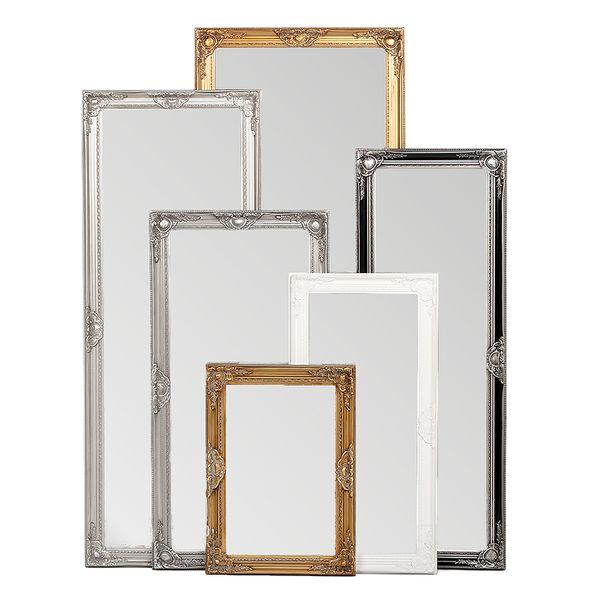 Spiegel LEANDOS barock weiß-pur 130x70cm – Bild 4