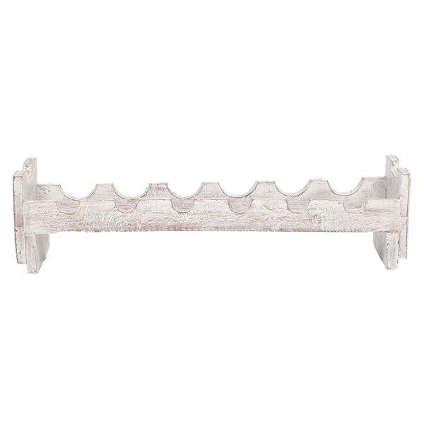 Flaschenregal NUANSA White-Wash Mahagoni ca. L70cm – Bild 2