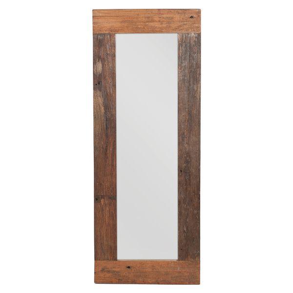 Spiegel INDO ca. 180x70cm Natural Mahagoni Teak – Bild 2