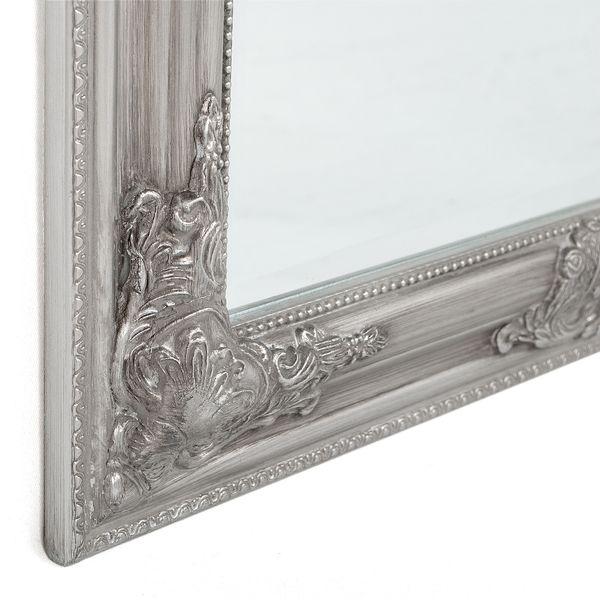 Spiegel BESSA barock silber-antik 130x70cm – Bild 4