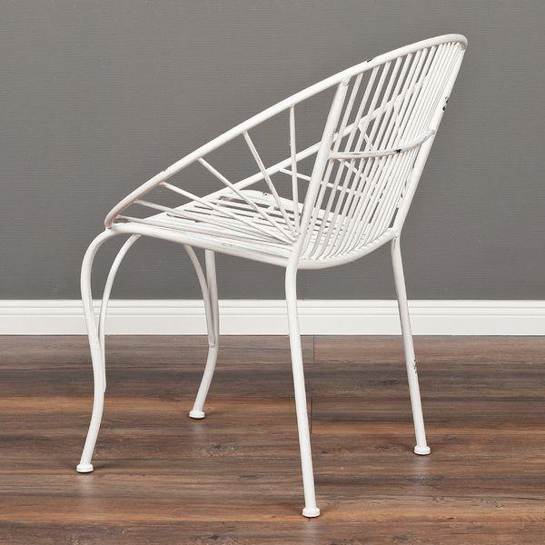 2tlg. Set Stuhl RIVER Weiß – Bild 6