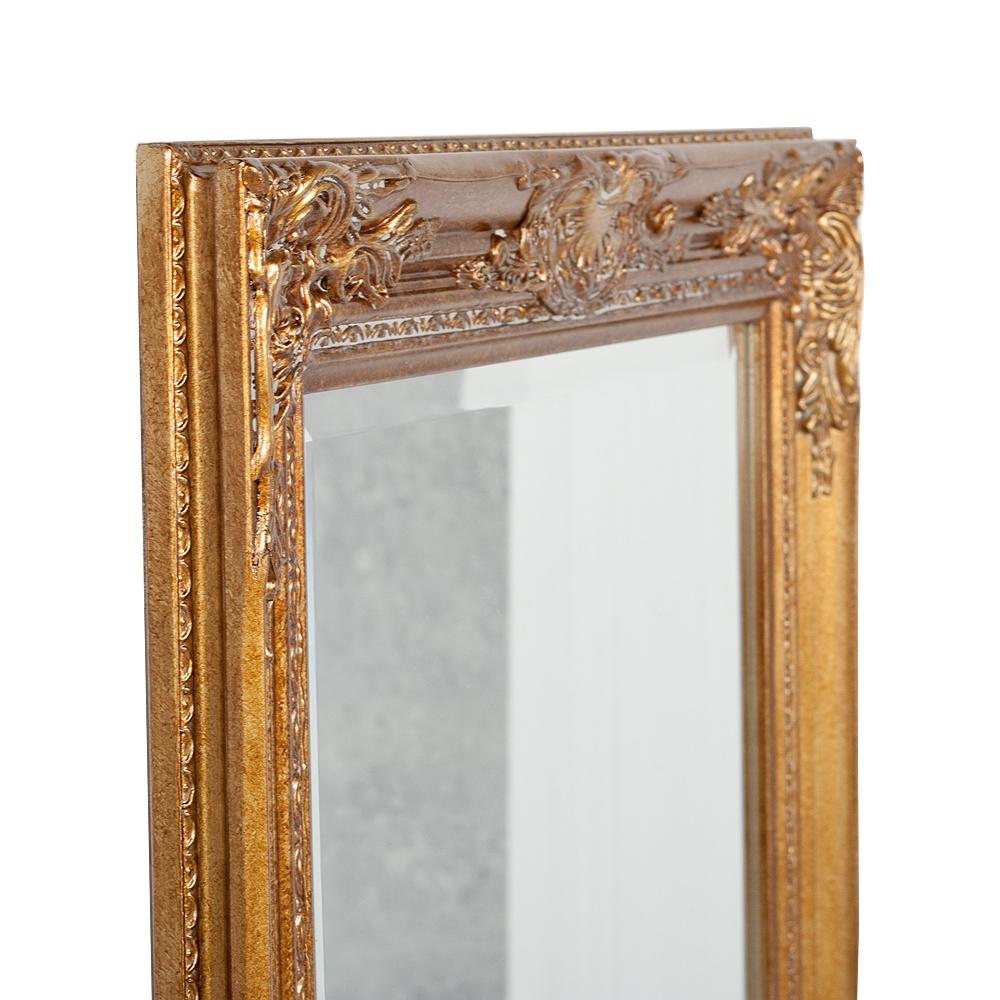 Spiegel HOUSE barock Antik-Gold ca.170x55cm Wandspiegel Flurspiegel Badspiegel