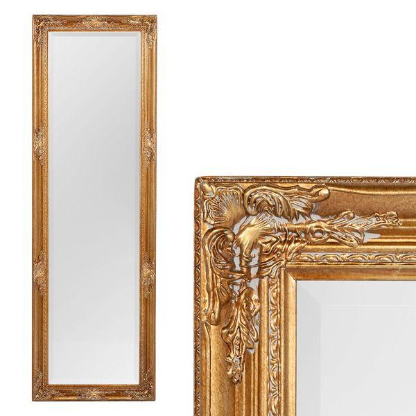 Spiegel HOUSE barock Antik-Gold ca. 170x55cm – Bild 1