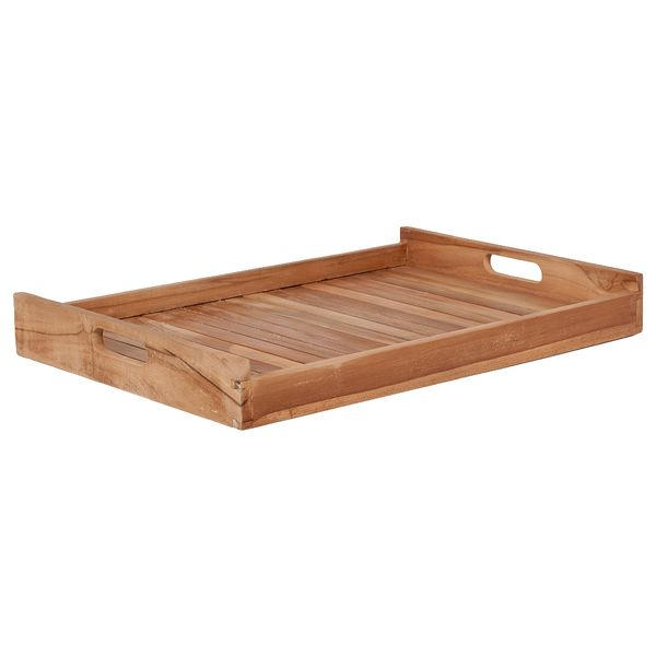 Teak Tablett BANDEJA-BIG Natural ca. L60cm – Bild 1