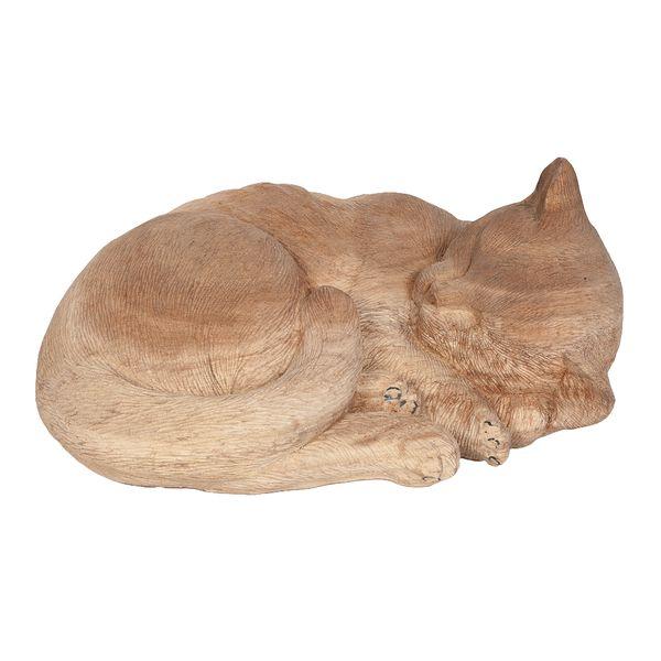Deko-Katze KUCING Suar-Wood – Bild 1