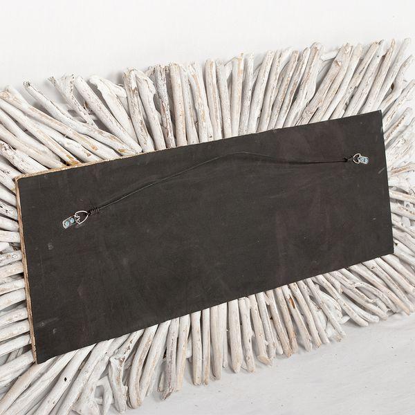 Wand-Deko-Objekt BULAT White Wash ca. L120cm Treibholz – Bild 5