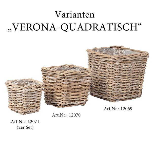 Pflanzkorb VERONA-Quadratisch ca. L21cm – Bild 4