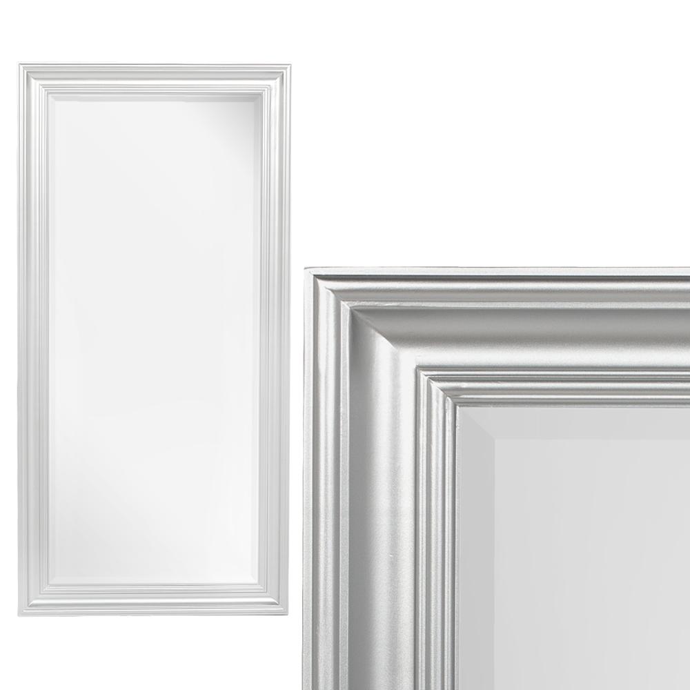 Spiegel GARVIN Glanz Silber ca. 120x60cm