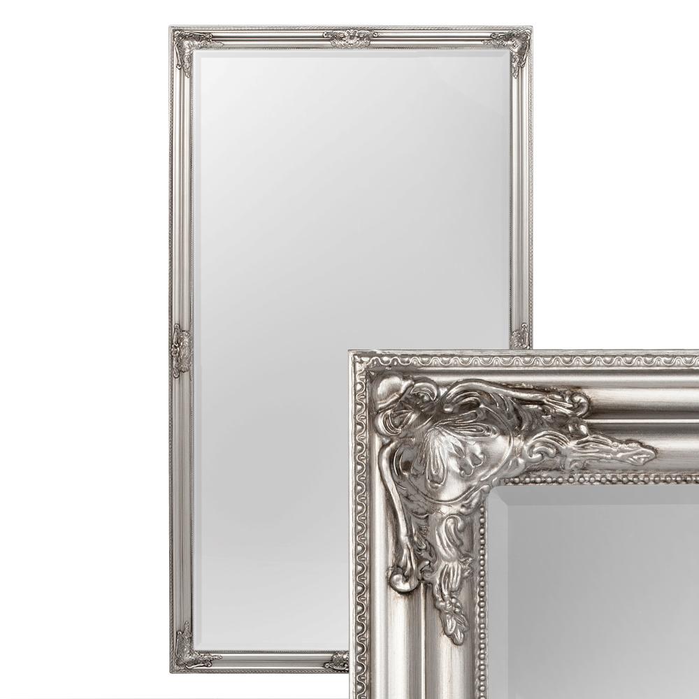 Spiegel BESSA Barock Antik-Silber 180x100cm