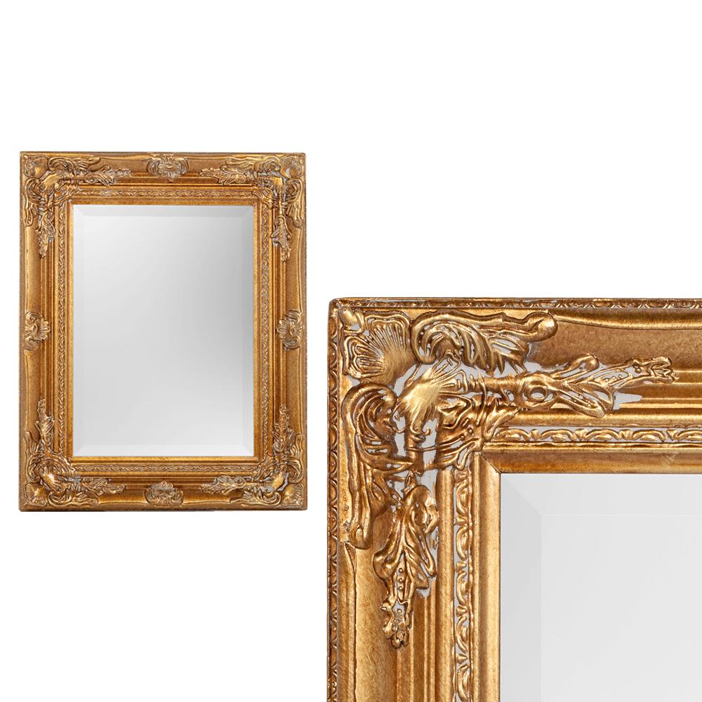 Spiegel HOUSE barock Antik-Gold ca. 40x50cm