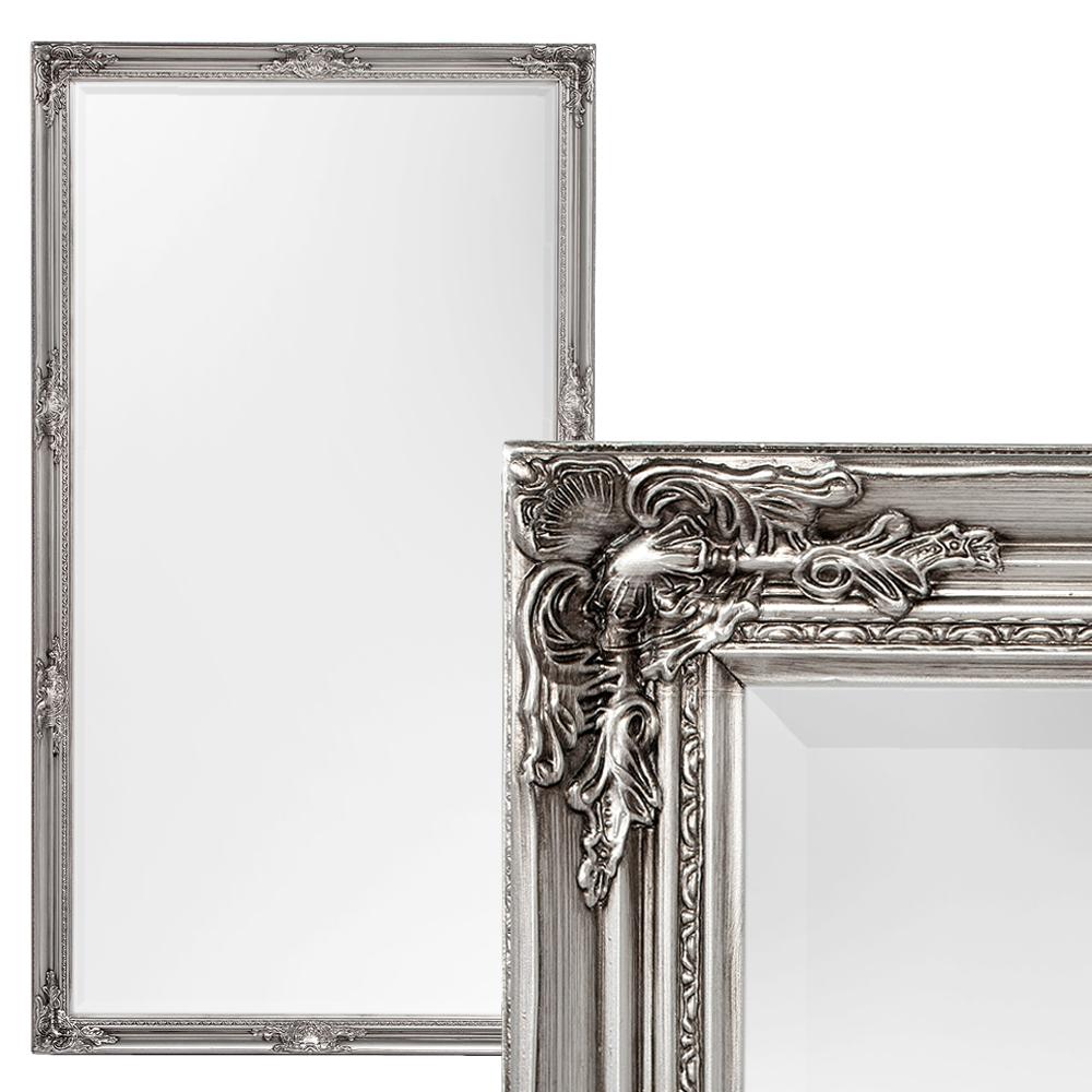 Spiegel HOUSE barock Antik-Silber ca. 180x100cm