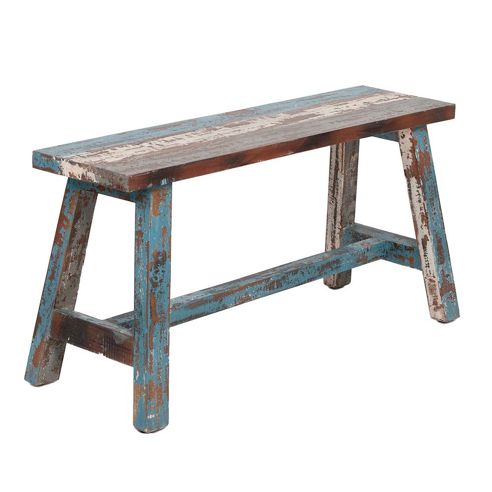 Sitzbank RANCH Antik-Multicolor Mahagoni ca. L90cm
