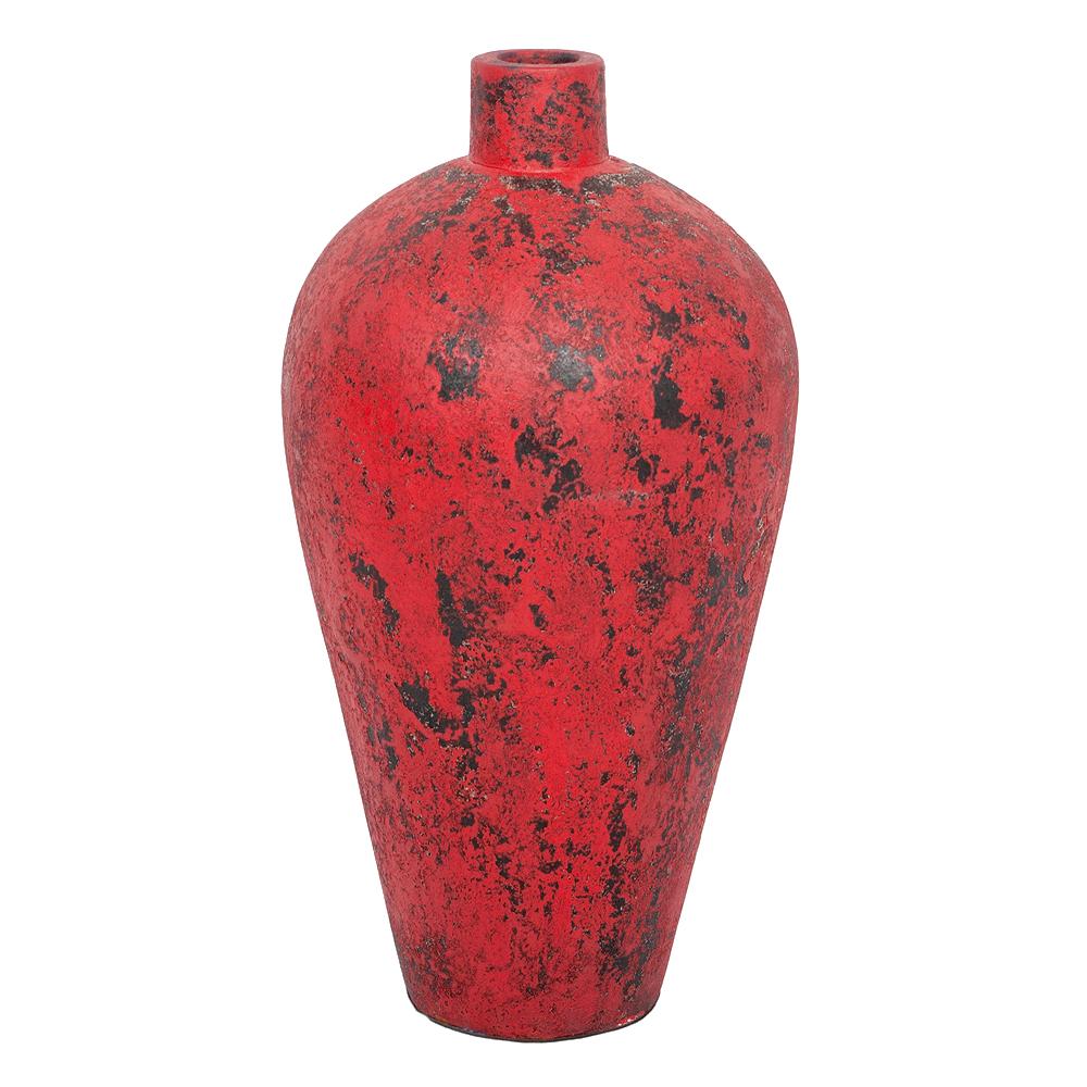 Deko-Vase COTTA-M Antik-Rot