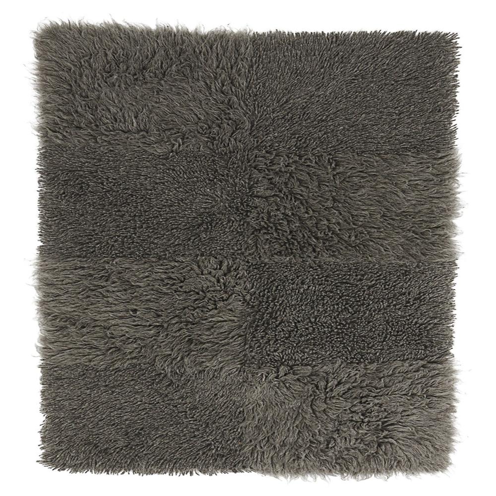 Hochflor Teppich TAUPE │ verschiedene Größen