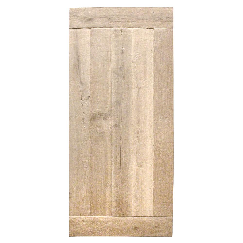 Tischplatte Eiche KOPENHAGEN │ gebürstet und gehobelt │ optisch gealtert │ Stärke : 45-48mm │ verschiedene Größen