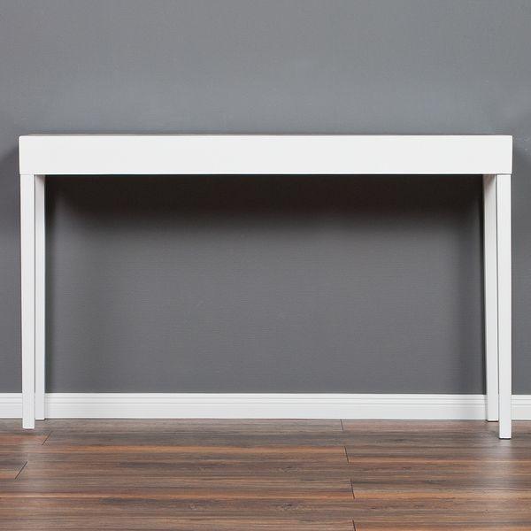 Konsolentisch LINO-C 120cm Hochglanz Weiß – Bild 2