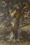 Julius Seyler München Akt Erotik nude body Dante-Allegorie Impressionismus Zügel 001