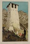 Armin Horovitz Balkan Albanien Serbien Skanderbeg-Turm Kruja Donaumonarchie 1918 001