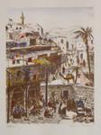 Ernst Huber Jaffa Tel Aviv Israel Palästina Orient Basar Beduinen Araber Kamel 001