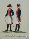 Orden Uniform Schlesien von Vittringhoff Frankenstein Zostrow Infanterie Preußen 001