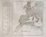 Didier Robert de Vaugondy Okzident Rom Spain Imperium Romanum