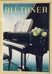 Rudolf Gerhard Zill Plakat Blüthner Klavier Piano Flügel Großpösna Leipzig 001