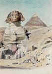 Michael Haubtmann Sphinx Gizeh Ägypten Egypt Cheops Pyramide Kairo Archäologie Bild 2