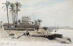 Nil Nile Ufer Ägypten Egypt Orient Expedition Fellache Bauer Fischer Oase Palme Bild 2