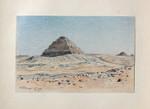 Haubtmann Sakkara Djoser-Pyramide Kairo Ägypten Egypt Wüste Pharao Mastaba