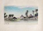 Michael Haubtmann Pyramiden Gizeh Kairo Ägypten Egypt Palme Cheops Weltwunder