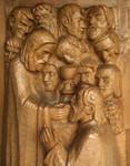 Otto Flath Hamburg-Dulsberg Altar Kirche Jesus Kreuzigung Abendmahl Saulus Auferstehung Lazarus Bad Segeberg Kiew Bild 8