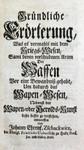 Johann Ehrenfried Zschackwitz Heraldik Wappen Kösen Dresden Leipzig Sachsen Gotha Lippe Bild 8