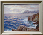 Gemälde Carl O'Lynch of Town Monaco Monte Carlo Riviera Nizza Côte d'Azur Genua Graz